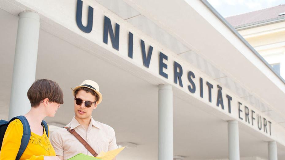 Studieren an der Uni Erfurt